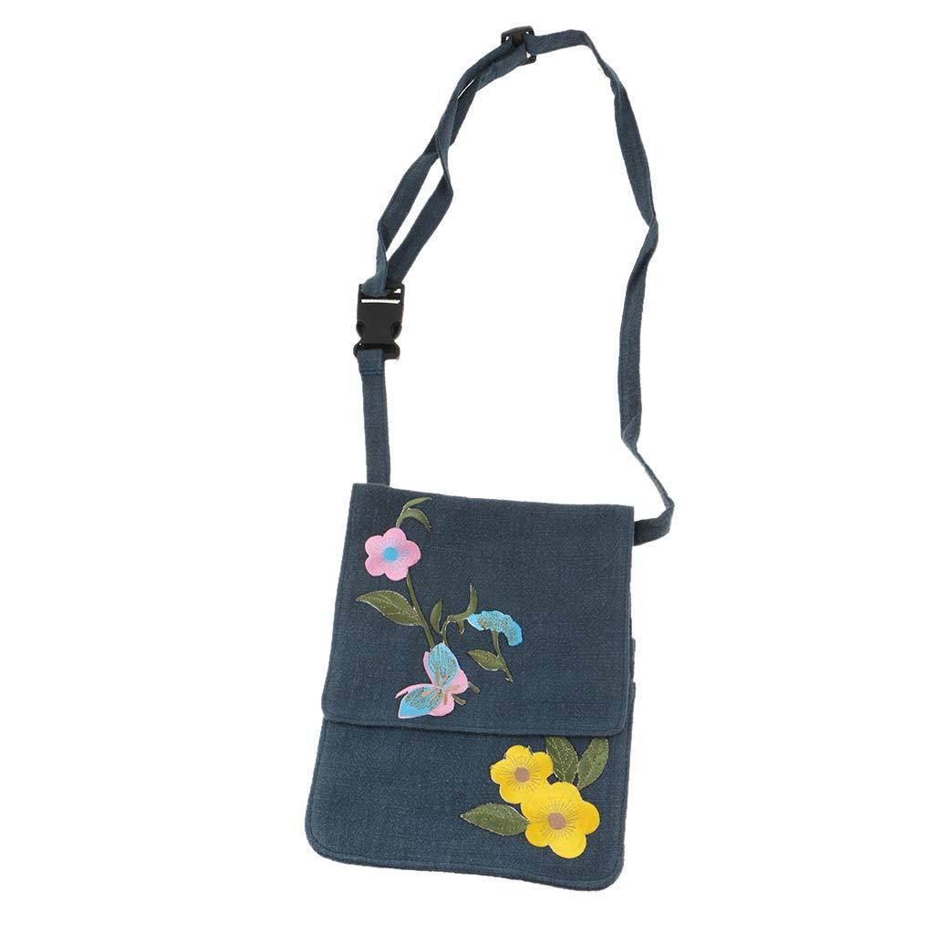 B Blesiya Japanese Ikebana Florist Working Accessories Tools Storage Bag - Waist Bag