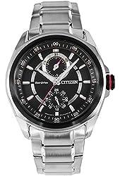 Citizen Men's Eco-Drive Stainless Steel Bracelet Watch 41mm BU3004-89E