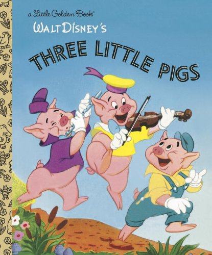 The Three Little Pigs (Disney Classic) (Little Golden Book) cover