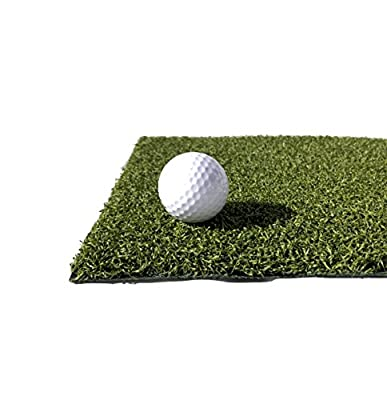 One Stop Outdoor USA Made - Premium Artificial Turf Grass Golf Chipping/Driving Mat - Synthetic Turf Emerald Put Color