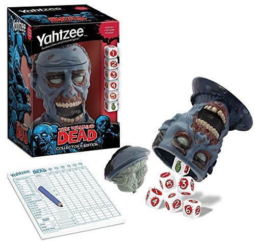 Yahtzee The Walking Dead Collectors Edition Game by USAopoly by USAopoly