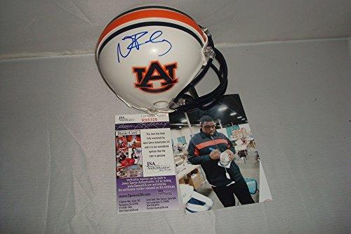 Nick Fairley Signed Auburn Tigers Mini Helmet, JSA Authentic, National Champion ()