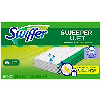 Amazon Com Swiffer Sweeper Wet Mopping Pad Refills For