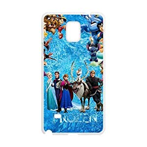 Frozen durable fashion Cell Phone Case for Samsung Galaxy Note4 hjbrhga1544