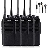 TYT TC-3000A 10W UHF 400-520 MHz 16CH 1750Hz Scan VOX Scrambler Two Way Radio Handheld Transceiver With USB Program Cable and In-ear Headphone - 5 set