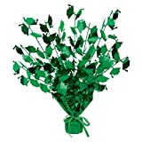 Club Pack of 12 Green Foil Spray Graduate Cap Gleam 'N Burst Centerpieces 15''