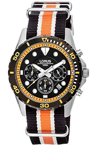 Lorus Sport Mens Analog Quartz Watch with Nylon Bracelet RT367BX1