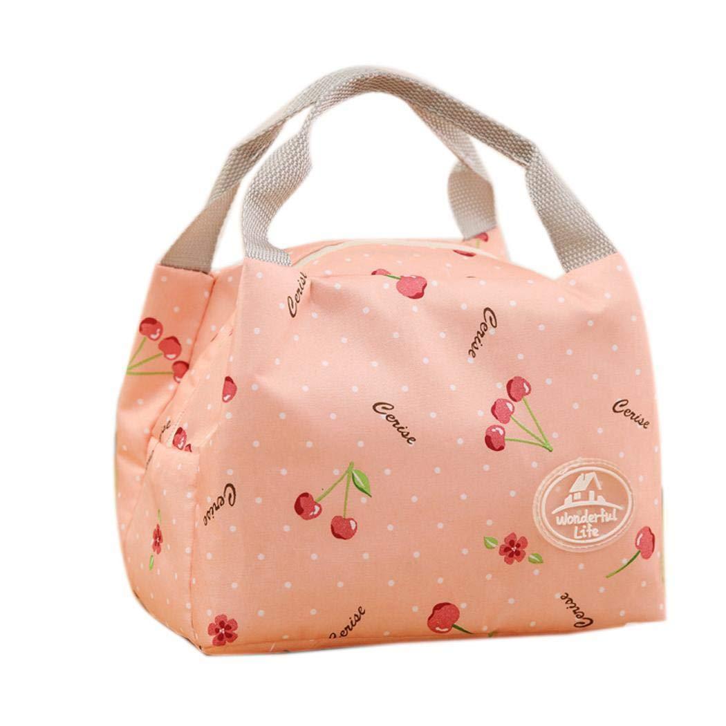 refrigerador t/érmico bolsa de almuerzo bolsa de almuerzo aislado Alimentos Timesok Caja de almacenamiento para picnic