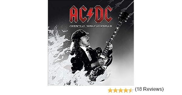 AC/DC Calendario 2020: Amazon.es: Oficina y papelería