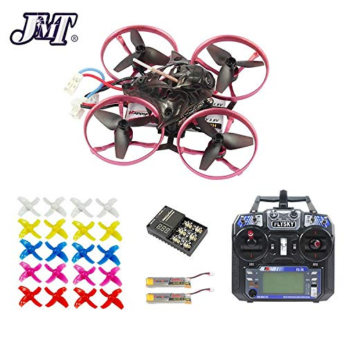 Generic JMT 75MM Brushless Metal Frame FPV Racing Drone RTF with Crazybee F3 Pro Flysky RC FPV Goggles Watch Arch Apron Upgraded Mobula7 with FSi6 TX