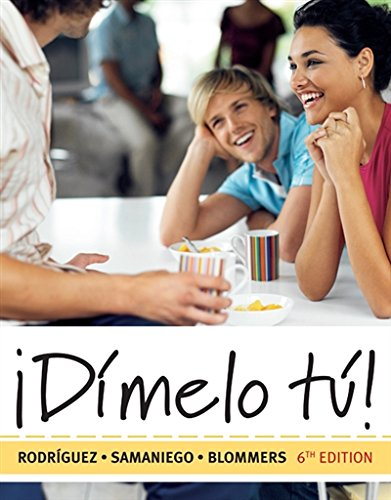 Dimelo tu!: A Complete Course (with Audio CD) (World Languages) by Cengage Learning