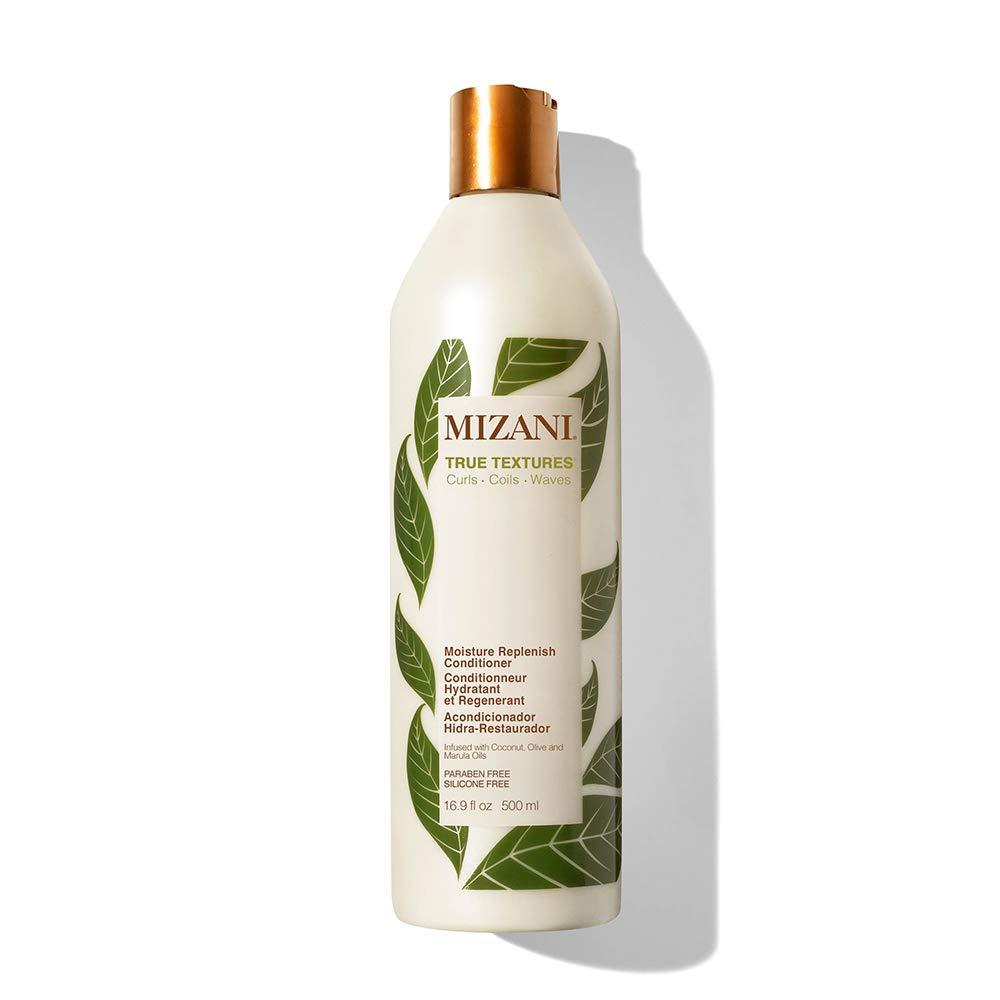 MIZANI True Textures Moisture Replenish Conditioner | Moisturizes & Defines Curls | Silicone & Paraben-Free | For Curly Hair