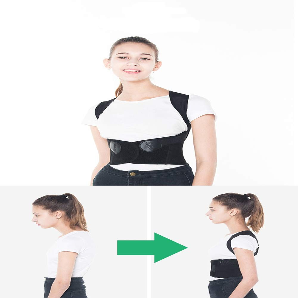BLWX - Back Support Belt - Student Hunchback Correction Clothing Adult Boys and Girls Correction Kyphosis Correction Belt Correction Belt Humpback Correction Belt (Size : L) by BLWX-Humpback correction belt (Image #3)