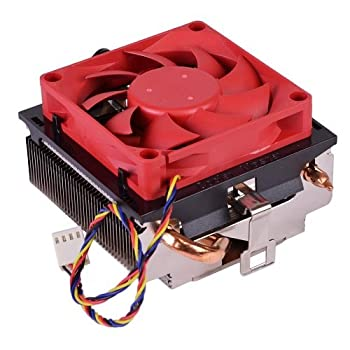 Cooler Master AMD FM2+ / FM2 / FM1 / AM3+ / AM3 / AM2+ / AM2 / 1207 / 940 / 939 / 754 4-Pin Connector CPU Cooler With Aluminum Heatsink With Copper Heatpipes & 2.75-Inch Fan For Desktop PC Computer