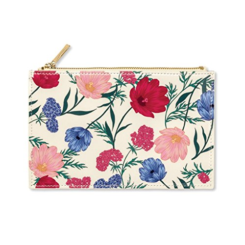 Kate Spade New York Women's Blossom Pencil Pouch, Red/White