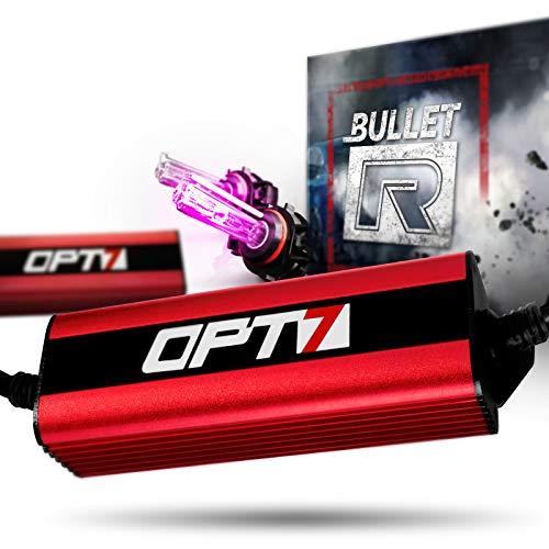 Pink Fog Lights - OPT7 Bullet-R 5202 2504 Fog Light