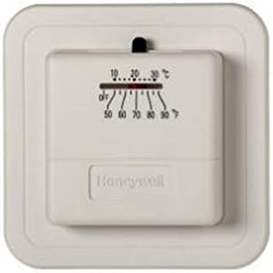 Honeywell CT30A1005 Standard Manual Economy Thermostat, Almond, 0.6