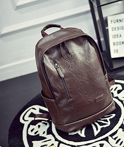 Die Mode Trend der weiblichen Kursteilnehmer Rucksack Tasche Tasche für Männer brown