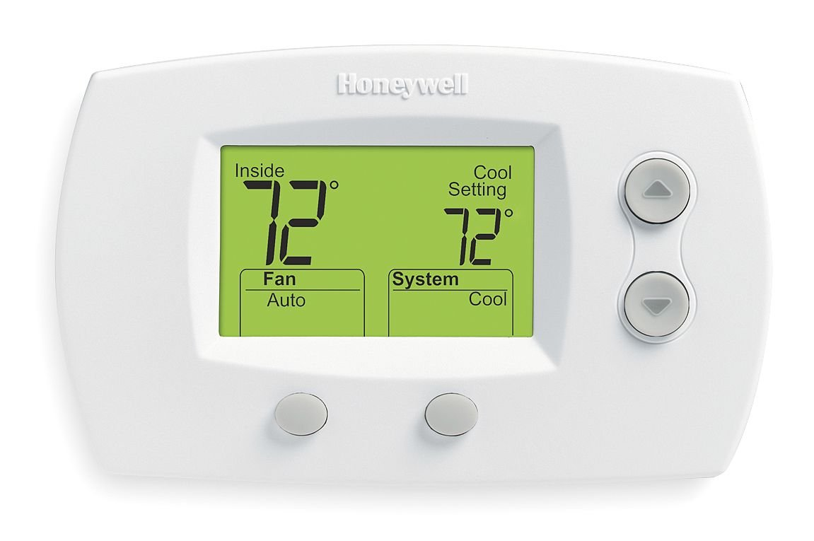 Thermostat, Stages 2 Heat/2 Cool: Programmable Household Thermostats: Amazon.com: Industrial & Scientific