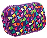 ZIPIT Colorz Pencil Case/Pencil Box/Storage Box/Cosmetic Makeup Bag, Purple
