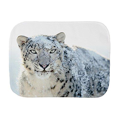 Price comparison product image Royal Lion Baby Burp Cloth Snow Leopard HD