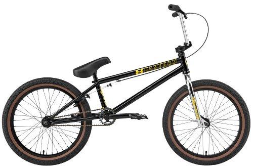 Eastern Traildigger BMX Bike Gloss Black w/ Black Rims 20in Mens