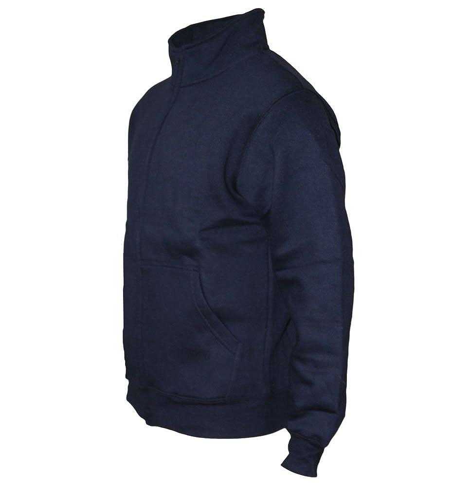 Maglione ROCK-IT Apparel/® Giacca per Il Tempo Libero da Uomo Senza Cappuccio Giacca di Alta qualit/à Taglie S-5XL Diversi Colori