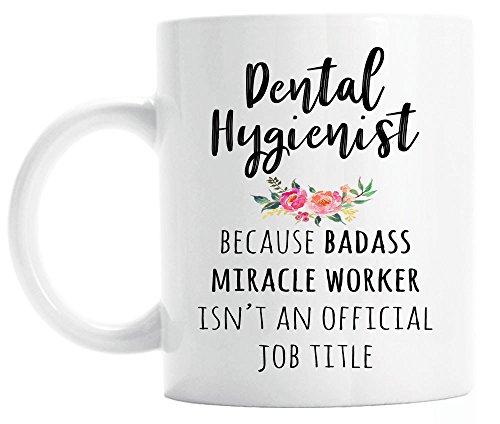 Gift for Dental Hygienist, Funny Dental Hygienist Coffee Mug, Graduation Gift