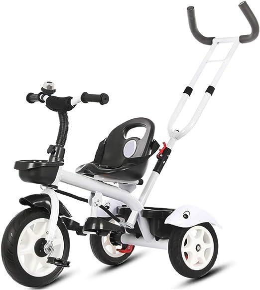NBgy Triciclo, Bicicleta Multifunción De Tres Ruedas para Niños, 3 ...