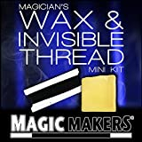 The Magician's Wax and Invisible Thread is an indispensable part of any magician's collection! Easy to use and easy to remove, this wax is ideal for anchoring in levitation effects, marking cards and vanishes. Comes with online learning tricks, tips ...