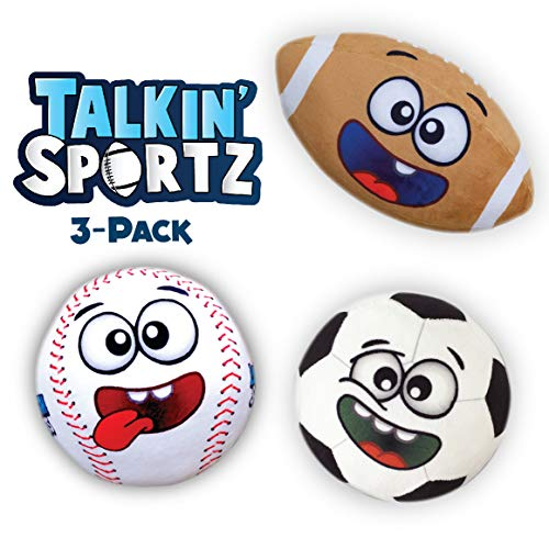Move2Play Talkin' Sports Hilariously Interactive Toy Sports Balls with Music and Sound FX for Kids and Toddlers - Bundle Set. by Move2Play (Image #6)