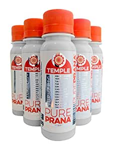 Temple Turmeric PurePRANA Energy Shot (3 Oz) Case of 6