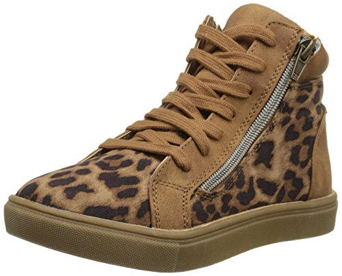 ightop Sneaker (Little Kid), Leopard, 13 M US Little Kid (Leopard Print High Top)