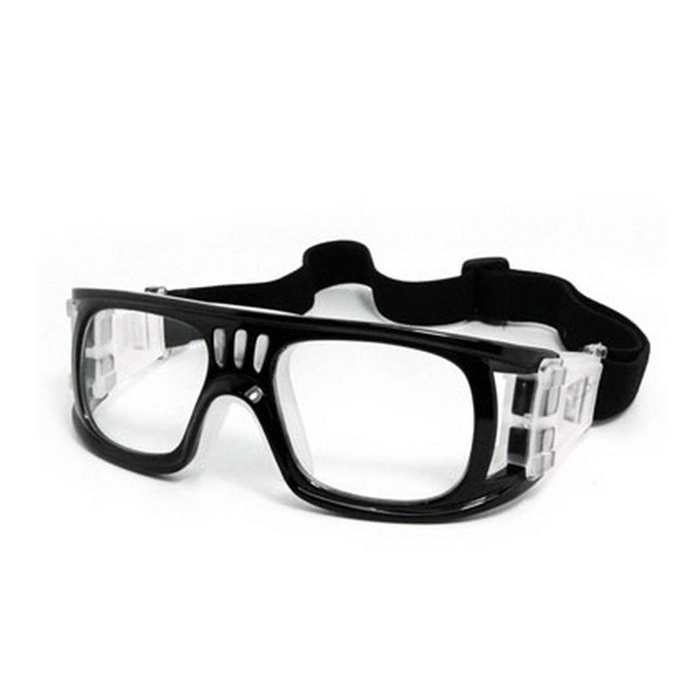 162c1e12dc75 ZOORON Sports Goggles Protective Safety Glasses Eye Protection Anti-fog  Impact-resistant for Adults with Adjustable Elastic Strap and A EVA Box for  ...