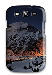 Tough Galaxy VoJAdJK66 4.790YgMmi Case Cover/ Case For Galaxy S3(sunsets On Cold Mountains)