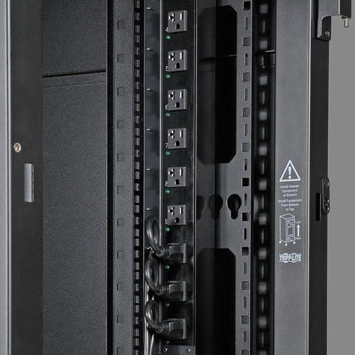 Tripp Lite SRVRTBAR 42U Rack Enclosure Server Cabinet Vertical Cable Management Bars