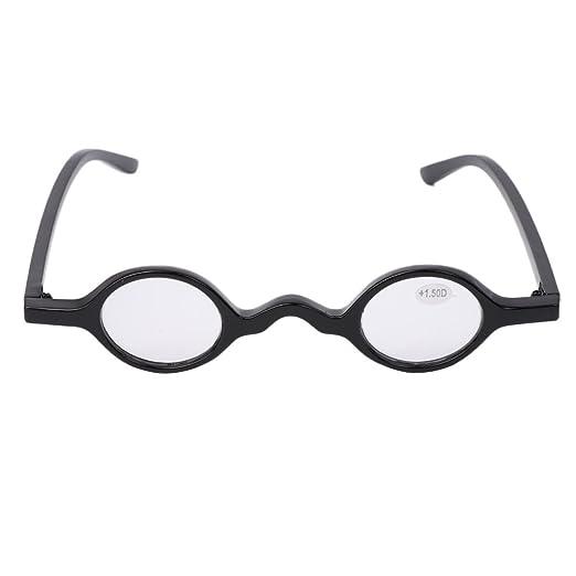 Amazon.com: Doober Vintage Small Round Oval Frame Reading Glasses ...