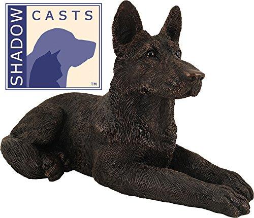 (Ever My ShadowCast Bronze German Shepherd Dog Pet Urn)