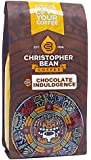 Christopher Bean Coffee Flavored Ground Coffee, Chocolate Indulgence, 12 Ounce