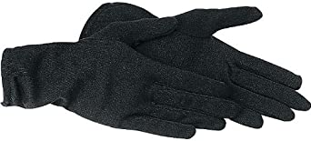 Thermoboy Unterziehhandschuhe Unterziehhandschuh 1.0 Schwarz XXL // 2XL reine Baumwolle S hervorragendes W/ärmepolster