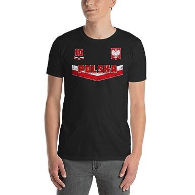 Polska Soccer Jersey Mens T-Shirt - Poland Flag - Polish Soccer Cup - Womens  Short-Sleeve Unisex T-Shirt  0f33e5a6ab
