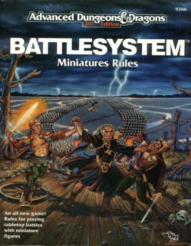 Rules Dragons And Dungeons Miniatures (Battlesystem: Miniatures Rules (Advanced Dungeons & Dragons))