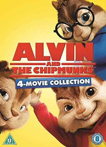 Alvin And The Chipmunks 1-4 [DVD]