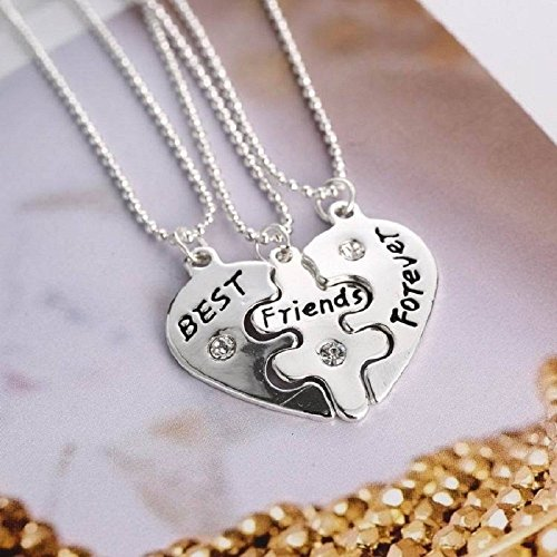 Greatest Amazon.com: RevoLity Best Friends Forever Three Part Necklace  RM03