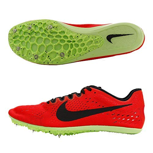 Nike Men's Zoom Victory 3 Racing Shoe Red Orbit/Black/Lime Blast Size 13 M US (Zoom Victory Nike)