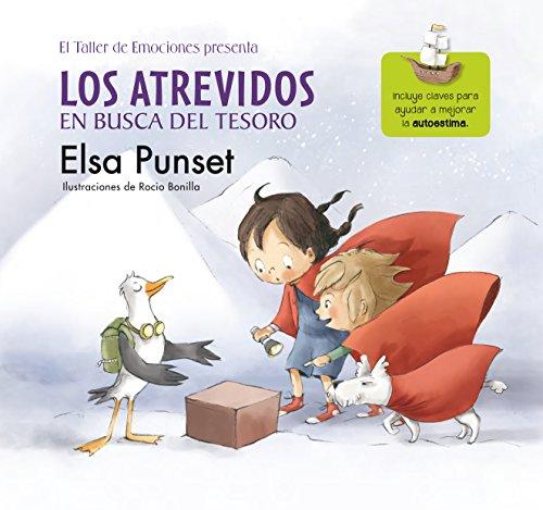 Portada del libro Los Atrevidos en busca del tesoro de Elsa Punset, Rocio Bonilla
