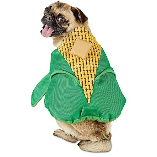 [Bootique Corn on the Dog Costume,SMALL] (Corn On The Cob Dog Costume)