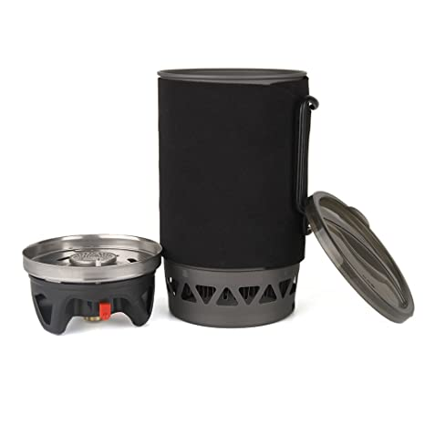 Lixada 1400ML Estufa de Cocina Al Aire Libre Camping Estufa de Bolsillo Gas Cocina Estufa 3