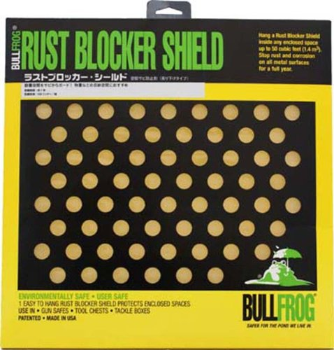BullFrog 13219 Bull Frog 91321 Rust Blocker Emitter Shield ()