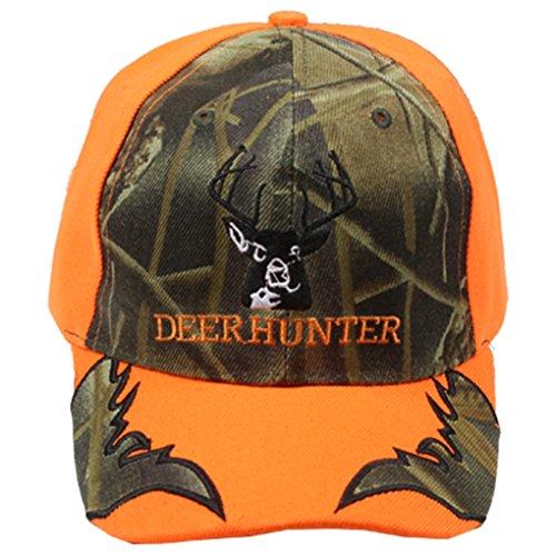 Deer Costumes Womens (Silver Fever Classic Baseball Hat 100% Adjustable Unisex Trucker Cap - Made to Last (Deer Hunter))